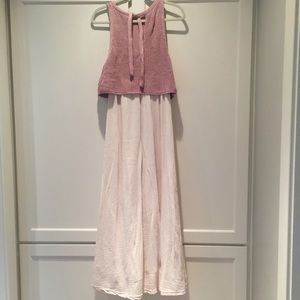 Anthropologie Moth Maxi dress